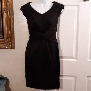White House Black Market Black Dress NWT